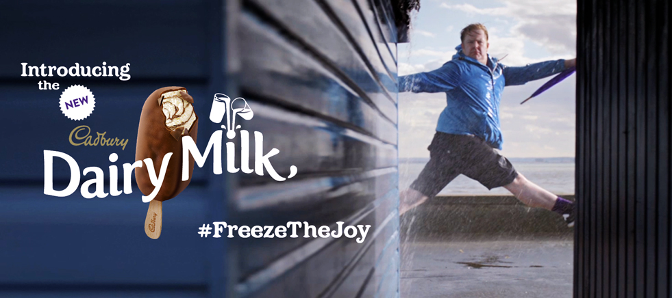 Cadbury #FreezeTheJoy