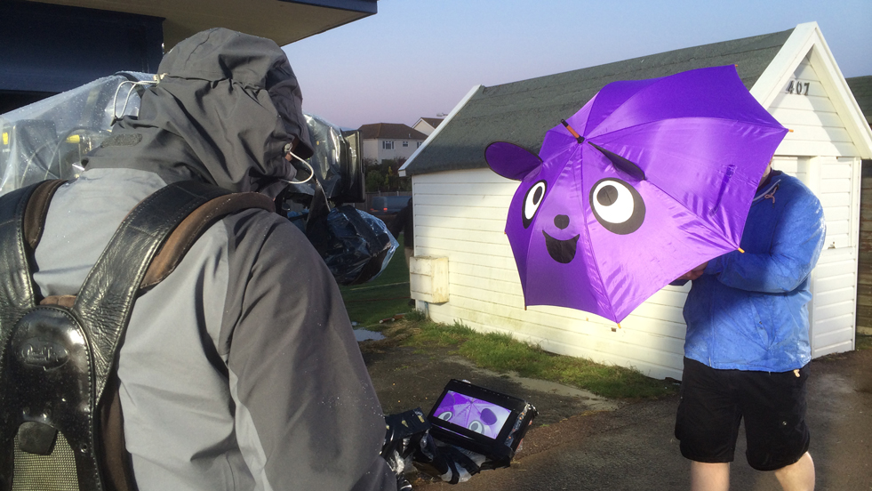Cadbury #FreezeTheJoy BTS Photo 5