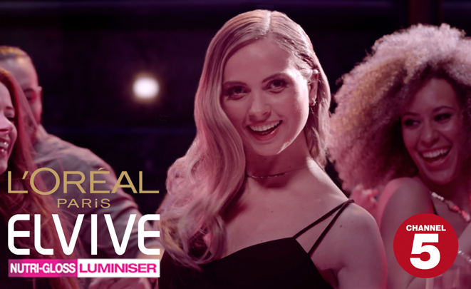 L'Oreal Luminiser Channel 5 TV Ident