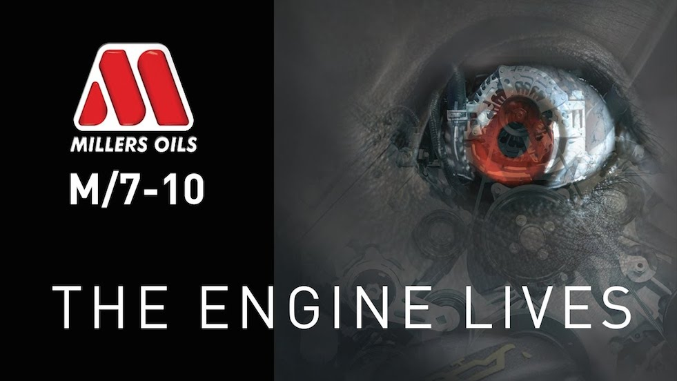 Millers Oils Living Engine Work Photo 1